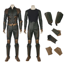 2017 Newest Movie Justice League Aquaman Cosplay Costumes for Halloween Party for Adult Men Fantasia Suit  (can be costumed)
