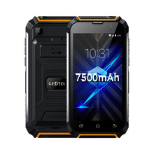 "Geotel G1 5"" 3G WCDMA Andriod 7.0 Cell Phone 2GB RAM 16GB ROM 8MP Camera MTK6580A Quad Core Smartphone 7500mAh Powerbank Battery"