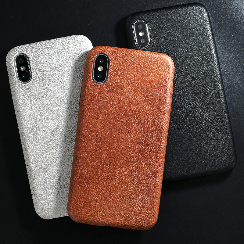 SoCouple PU Leather Pattern Phone Case for iphone 7 8 6 6s plus Case Crocodile Skin Soft Back Cover For iphone X xs max XR Case(China)