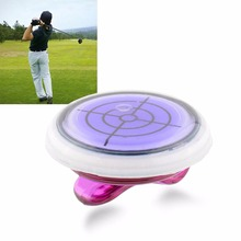 Golf Slope Putting Helper Level Reading Ball marker With Hat Clip Outdoor Sports Golf Accessories