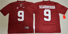 NIKE Alabama Crimson Tide Bo Scarbrough 9 College Limited Jersey Ice Hockey Jerseys - Crimson Size S,M,L,XL,2XL,3XL(China)