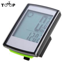 Multifunctional Bicycle Computer Wireless LCD Bicycle Bike Computer Odometer Speedometer for Outdoor Cycling