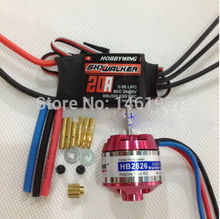 MJX F45 2.4G 4 channels R/C helicopter spare parts Brushless Upgrade Kit Motor ESC etc(China)