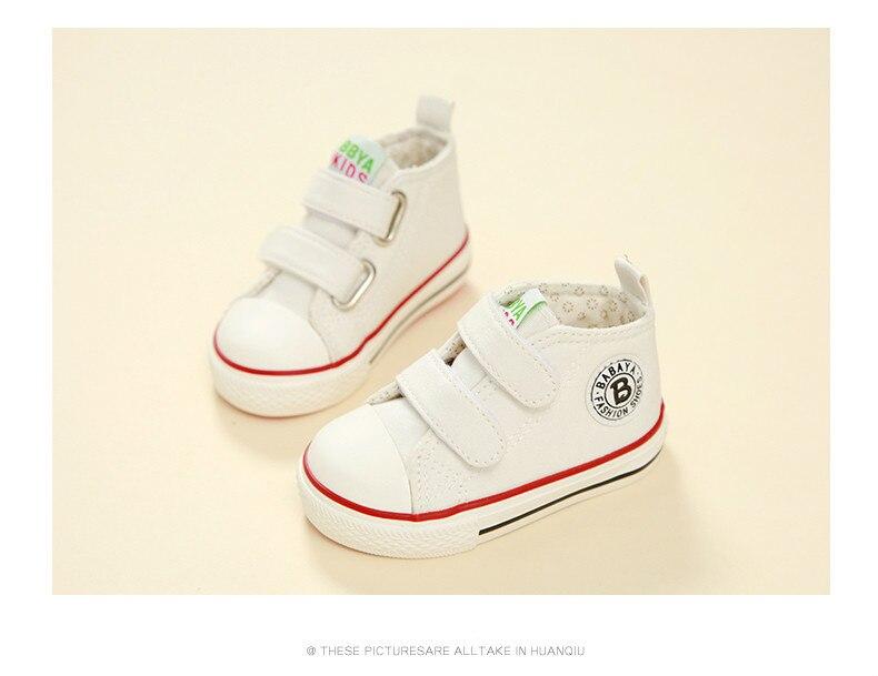 Enfants chaussures pour fille enfants toile chaussures garçons 34