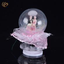 Hot Sale Valentine's Day Gifts Snow Globe Creative Christmas Souvenirs Crystal Best New Years Online Valentines Music Box