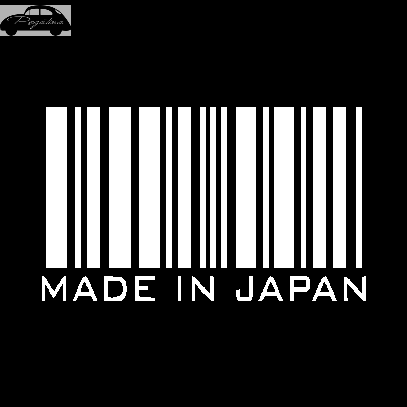Pegatina Made in Japan Decal Sticker Car Window Vinyl Decal Funny Poster Motorcycle
