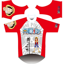 2017 men cycling clothing short sleeves One piece cycling jersey ropa ciclismo  novelty cycling jersey Monkey D Luffy Customize