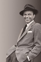 DIY frame Frank Sinatra Classic Music poster Fabric silk poster Bedroom Setting Home Decoration Poster Prints Wall Decor