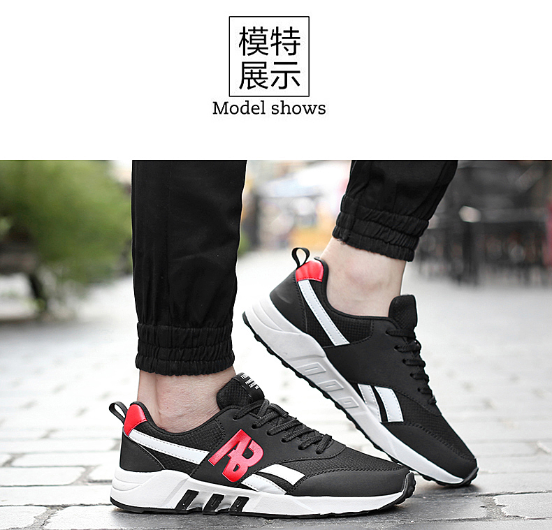 17New Brand Summer Sports Racer Men Running Shoes Breathable Men's Athletic Sneakers zapatillas Jogging outdoor Shoes hombre 8