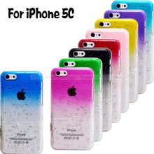 5C Hot!! Raindrop Hard Cases Cover For Apple iPhone5C Case For iPhone 5C Cell Phone Protection Shell Top Fashion Best Choose
