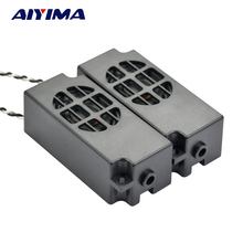 Aiyima 2pcs 4ohm 5W Liquid Crystal TV Passive Small Speakers Computer SoundBox Massager loudspeaker box