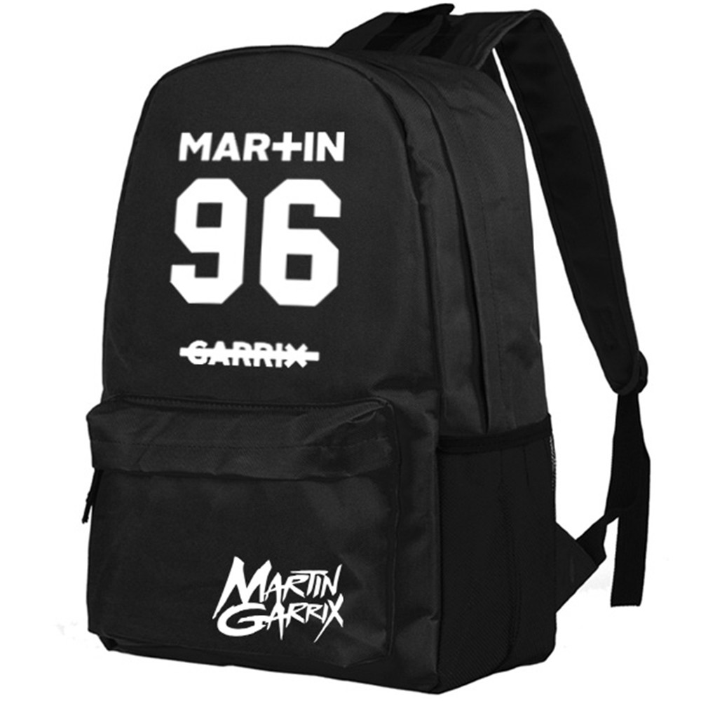 Zshop Martin Garrix Backpack Teenager Boys and Girls Shoulder Bag Middle School Students Daypack<br>
