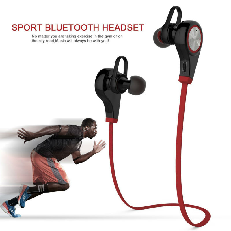 Original Q9 Wireless Earphones Bluetooth Sport Headphones Running Music Stereo Earbuds Handsfree with Mic for Smartphones<br><br>Aliexpress
