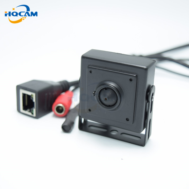 HQCAM 2.1mm Wide Angle lens 720P mini ip camera Wide Angle140 degrees ONVIF H.264 P2P Mobile Phone Surveillance CCTV IP Camera<br>