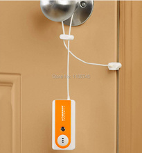 latch type anti-theft alarm door sensor portable traveling self-defense for travellers in holiday