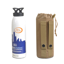Molle Water Bottle Camouflage Kettle Set Field Tactics Pocket Accessories Small Carrier Holder Bag