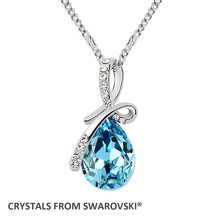 2015 mother's day christmas gift! Montana pendant necklace Crystals from Swarovski