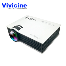 Vivicine UC40 UC40+ 800X480Pixels Home LED Mini Projector,Perfect Cinema HDMI USB LCD HD Video Game Movie Proyector Beamer