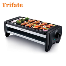 614 Fashion 1200W Nonstick Household Barbecue Grill