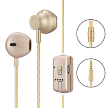 Variable Voice Change Sound Earphone 3.5mm Jack In-ear Wired Earphones Earplugs Support Child Women Sound for Mobile Phone Htc(China)