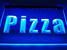 LK698- Pizza Cafe Business Lure LED Neon Light Sign home decor crafts(China)