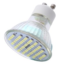 Energy-Saving Aluminum Led Bulb Light GU10 5W Spot Lighting 220V SMD 3528 60 LEDs LED Spot Light With Warm White On Sales