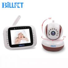 BILLFET 3.5 Color LCD Monitor Wireless Digital Video Baby Monitor with Camera Night Vision Lullaby Nanny Cam Babyphone Camera