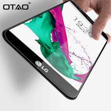 OTAO Tempered Glass Screen Protector For LG G2 G3 G4 Mini G3 G4 Stylus Spirit Front Film 2.5D 0.33mm 9H Film with Cleaning Kits(China)