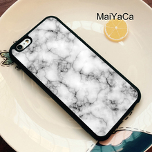 Novalty Marble Pattern Phone Hard Back Cover TPU Phone Case For iPhone 6 For iPhone 6 6S Mobile Phone Bags & Cases