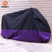 POSSBAY All Size Polyester Motorcycle Covers Bike Moped Scooter Covers Rain Outdoor UV Prevention For Honda CB400 Yamaha Honda(China)