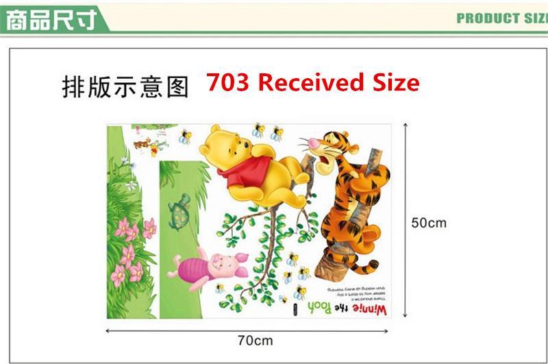 HTB1NdkUgkfb uJjSsrbq6z6bVXak - Baby Bear Cartoon DIY Wall Stickers For Kids Children Room Decaor 3d Window Bear Winnie Pooh Nursery Wall Decals