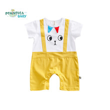 Summer Baby Romper Cartoon Toddler Coveralls Cotton Short Sleeve Jumpsuit Newborn Boy Girl Clothing Cute Infant Costume