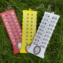 18 Hole Golf Stroke Shot Putt Score Counter Keeper with Key Chain Clearance Price