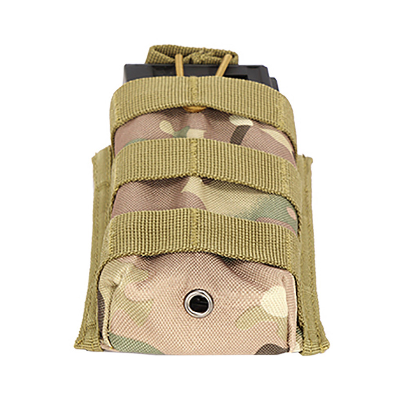 Molle Tactical Single Rifle Mag Magazine Pouch Open Top Bag M4 M16 5.56.223 Magazine Pouch