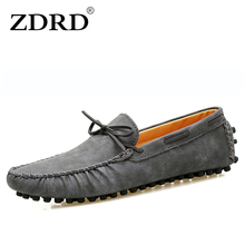 Buy ZDRD 2017 superstar men leather flat shoes fashion soft moccasins loafers men's boat shoes male peas shoes casual krasovki shoes for $21.25 in AliExpress store