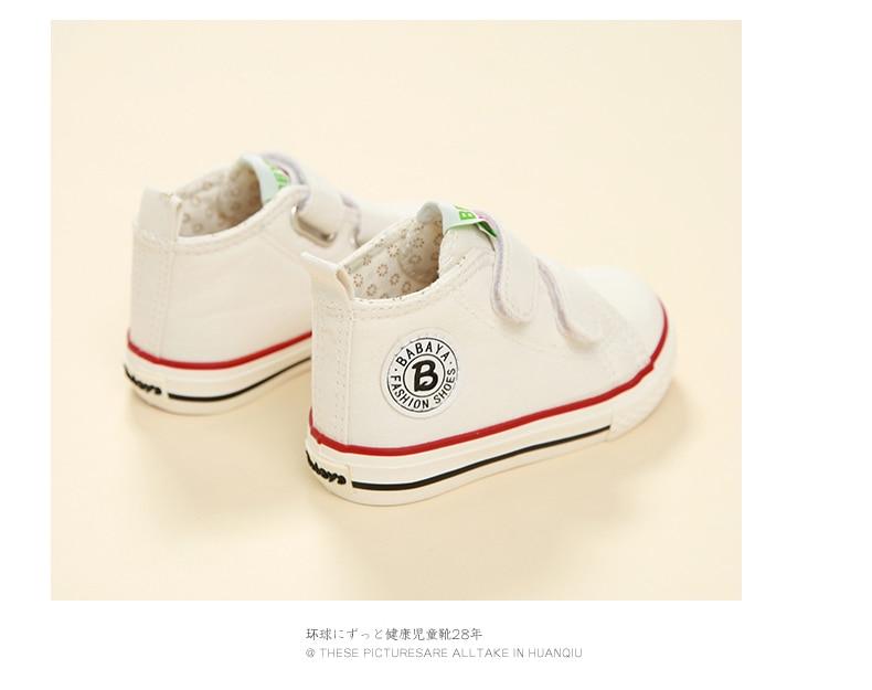 Enfants chaussures pour fille enfants toile chaussures garçons 35