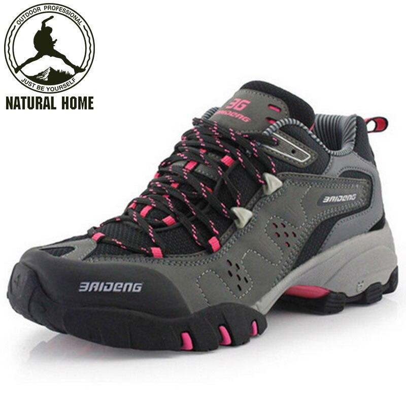 NaturalHome outdoor men shoes sport mountain boots women mens botas trekking winter shoe woman athletic shoes boot<br><br>Aliexpress