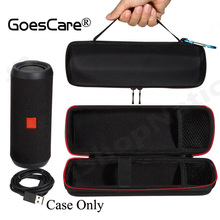 Newest Carry Travel Protective Cover Case Pouch Bag For JBL Flip 3 Flip3 Bluetooth Speaker Extra Space For Plug & Cables