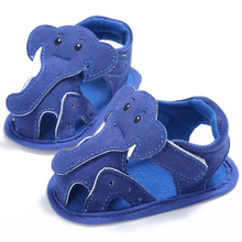 Summer Baby Boy Girls Shoes ds First walkers Cute Cartoon Animals Elephant Print Baby Boy Shoes Fashion Footwear Toddlers