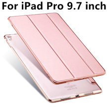 Case For Apple iPad Pro 9.7 inch Protective Smart cover Protector Leather PU Tablet For iPad Pro9.7 Sleeve 9 7 cases Covers 9.7""