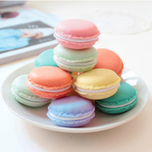 Cheap Sale+Hot Selling 48PCS=each 8PCS Kawaii Pastel Boxes Trinket Jewellery Stud Gum Storage Mini Macaroon Cases