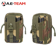 Aierwill Universal Outdoor Sports Military Molle Waist Belt Bag Wallet Pouch Purse Phone Case For Oukitel K6000 Plus/ U16 Max