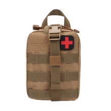 Outdoor Hunting Molle Medical Cover Emergency Survival Package Utility Tactical Portable Medical First Aid Kit Patch Bags(China)