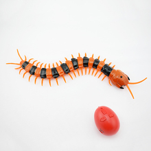 Electric Infrared Remote Control Centipede Insect Novelty Toys For Kids Gift Reptile Animal Trick Fun Toy(China)