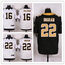 Mens 22 Mark Ingram Jersey 2017 Rush Salute to Service High Quality Football Jerseys(China)