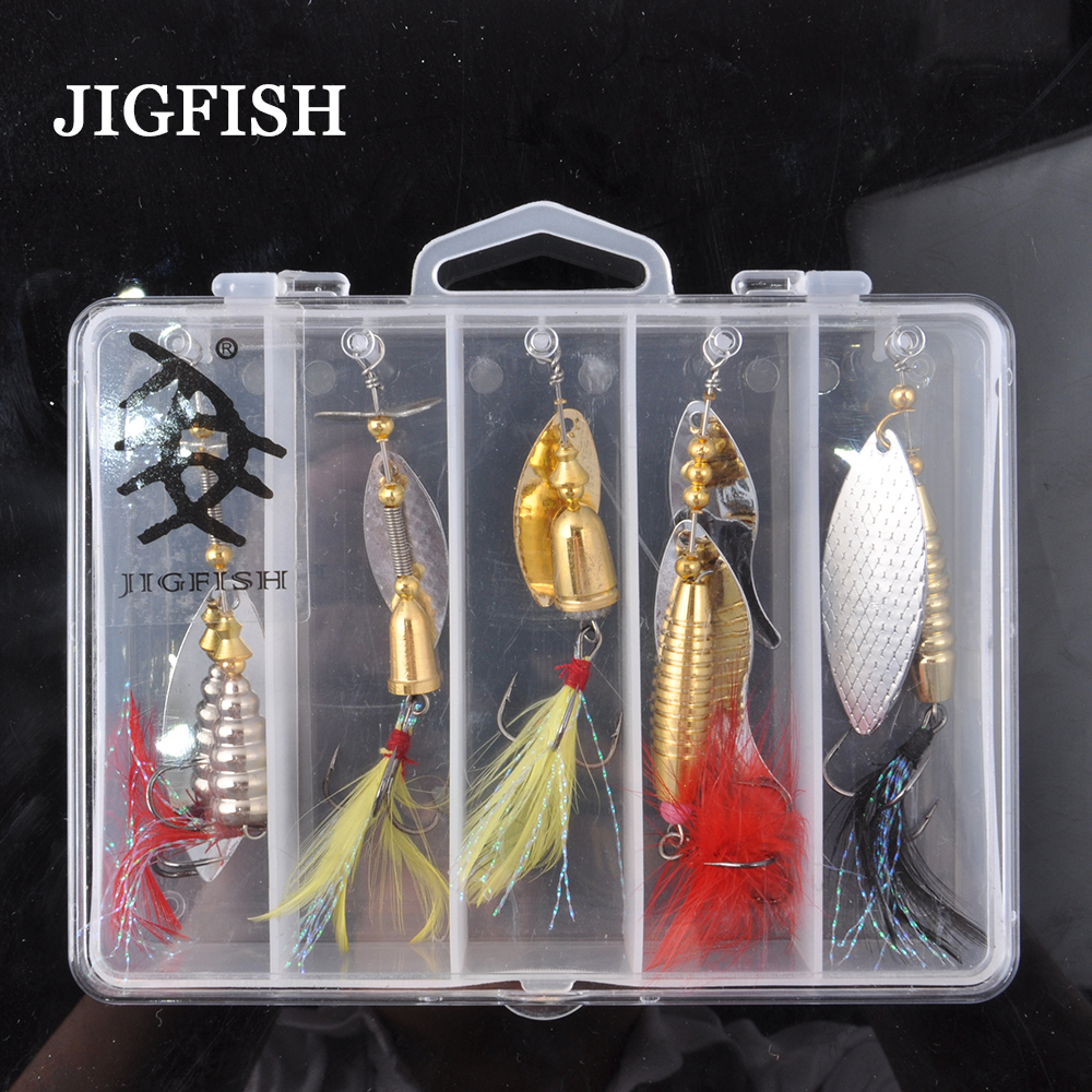 5pcs Jigfish Metal Super Spinner Bait  Spoon Fishing Lure 16g 70MM Sequin Paillette Baits Fishing Spoon Wobbler Pesca  JF-LP10 <br><br>Aliexpress