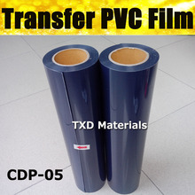 PVC transfer film dark blue Pvc Heat Transfer Vinyl with high quality 50CMX25M/ROLL CDP-05 DARK BLUE