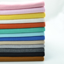 20 *100CM stretchy cotton knitted sweater rib fabric sportswear close cuff fabric