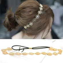 Girls Fashion Headbands Perfect Quality Wreath Hair Accessories Women Fine Garland Rose Flower Floral Hair band Headwear
