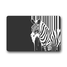 Innovative Door Mats Zebra Stripes Doormat 18-Inch By 30-Inch - Indoor/Outdoor Doormat Non-Slip Backing Door Mat(China)